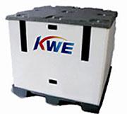 ポリプロピレン製梱包ボックス「Sky Cube」