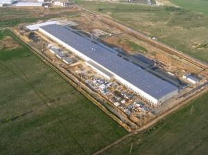 コマツロシアの新工場