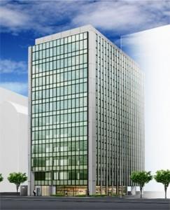 日通札幌ビル完成予想図