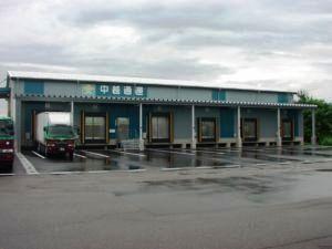 冷蔵・冷凍倉庫に回収された上越営業所