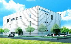 サティス製薬の新本社工場イメージ