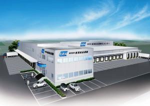 11月に稼働する新潟食品運輸のNCLセンター