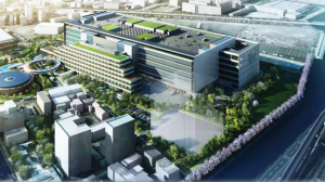 羽田物流ターミナルの完成予想図
