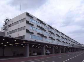 羽田空港第1国際貨物ビル1階の保税蔵置場