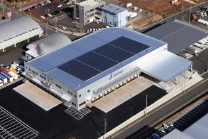 最大出力200キロワットの太陽光パネル