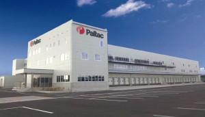 沖縄物流センターの外観