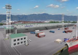 巨大重量物専用倉庫のイメージ(クリックで拡大)