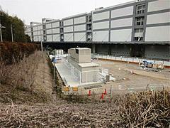 成田ターミナルに設置した非常用自家発電機