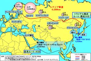 輸送ルート図(出典:中国地方整備局)