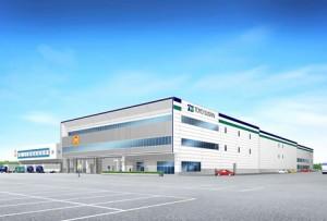 即席麺の新工場イメージ