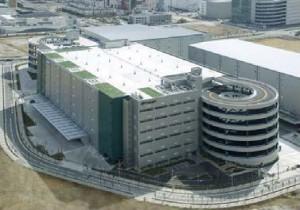 大阪北港支店が入居するプロロジスの物流施設