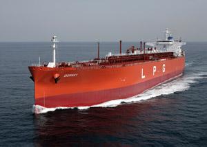 シンロンマリタイム社向けLPG運搬船「DORSET(ドーセット)」