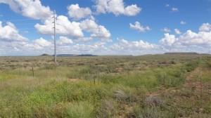 ソーラー発電所建設予定地(ポートエリザベスから北へ550km)