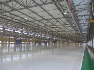 岡山第二工場の内部