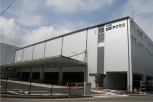 汎用大型物流センター機能を兼ね備えた日本アクセス静岡支店