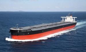 豪州から中国向けの鉄鉱石・石炭輸送に従事するシャガン・サンシャイン