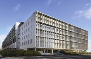 佐川東京ロジスティクスセンターの外観