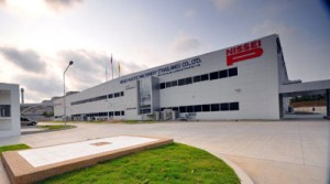 5月から工場も本格稼働に入る新社屋