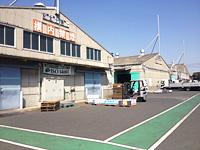 現在の日本ペイント販売・関東流通センター外観