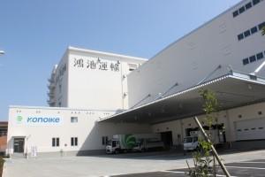 新センターの外観
