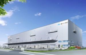 埼玉県加須市に建設する医薬品3PL専用拠点の完成予想図