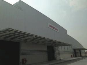 フジトランス、タイ・レムチャバン地区に倉庫建設(外観)