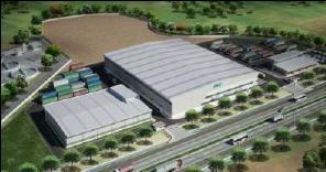 近鉄エクス、タイ・ロジャナ工業団地に新倉庫