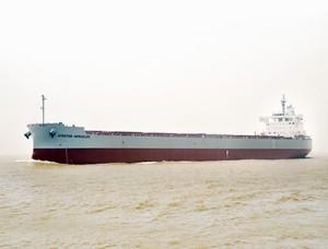常石造船、180隻目のカムサマックスバルカーを引渡し