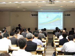 国際物流チーム、福岡市で阪神港利用促進セミナー