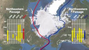 北極海航路利用の動きが活発化、昨年より1か月早く開通01