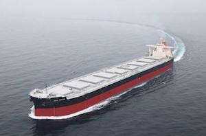 商船三井、次世代船中核技術搭載の貨物船竣工