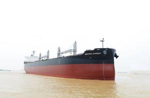 川崎重工、中国で6.1万トン型ばら積み船を引渡し