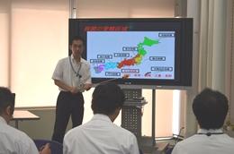 名古屋税関、トレーディアの研修生に取り組み紹介