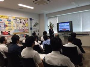 JILS、ビズネット東京物流センターを視察02
