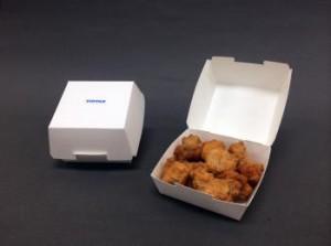 凸版印刷、中食・惣菜向け耐油性紙容器を開発