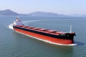 常石造船、195隻目の「カムサマックスバルカー」を引き渡し