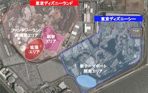 OLCが投資構想、東京ディズニーリゾートの物流施設群拡大