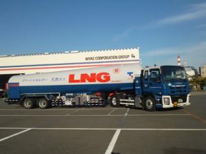 東京ガス、CNG燃料のLNGローリー輸送を12月開始