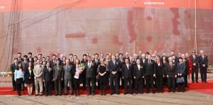 クヌッツェンNYK、新造シャトルタンカーに命名
