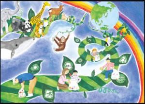 SGHD、エコ絵画コンクール入賞作品52点を決定