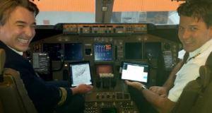 ▲フライトドキュメント用iPad(出所:TNTエクスプレス)