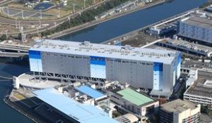 ▲平和島物流センター(出所:NTTロジスコ)