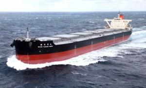 商船三井、中部電力向け石炭専用船が竣工