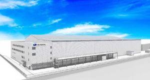 ▲新工場の外観(出所:富士重工業URL)