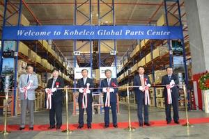 コベルコクレーン、シンガポールの部品在庫拠点が稼働