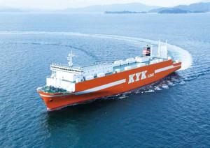 近海郵船、新造RORO船「ひだか」が就航