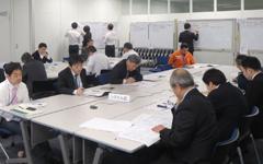 NTTロジスコ、荷主企業の参加得て危機管理演習
