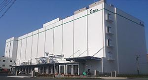 二葉、大阪南港に冷凍物流施設竣工、40室に分け温度帯管理