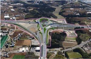 圏央道、神崎-大栄間が6月7日開通、拠点立地進む