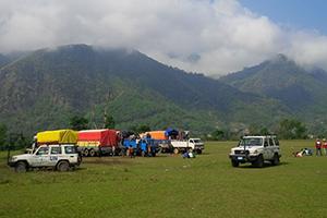国連WFP、ネパール支援へトリブバン空港で物流拠点運営
